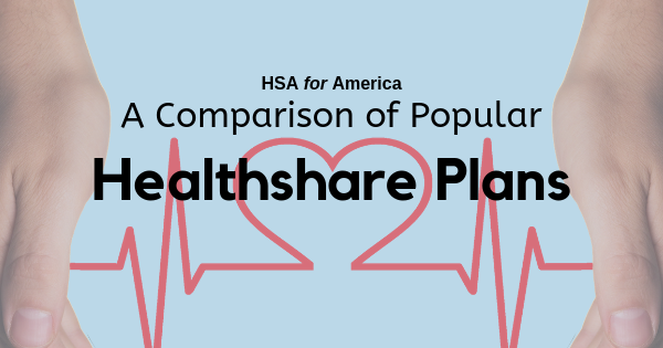 A Comparison of Popular Healthshare Plans