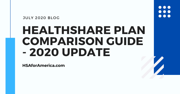 Best Healthshare Plans – HSA for America's Healthshare Plan Comparison Guide