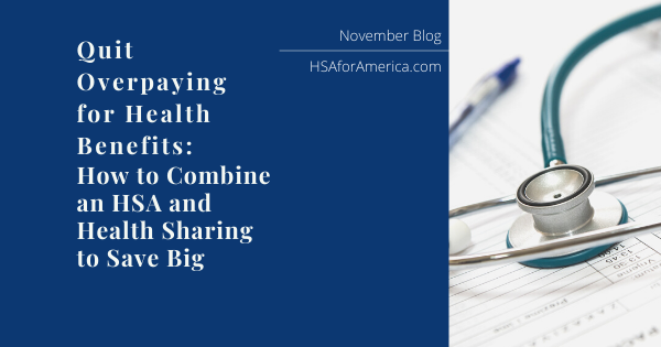 HSA and Health Sharing